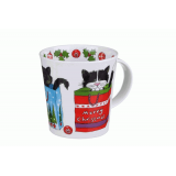 Кружка 480 мл. Christmas cats Cairngorm Dunoon 019574