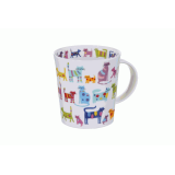Кружка 320 мл. Colourful cats Dunoon 019989