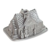 Форма для выпечки Gingerbread House Bundt Nordic ware 83948